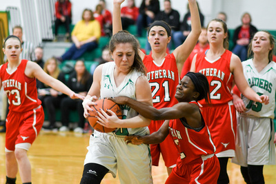 Varsity Girls vs. Lutheran West (29)