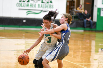 VARSITY Girls vs. Northwestern-93