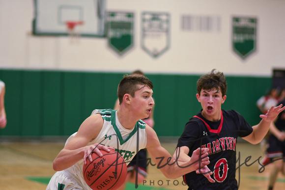 Boys Varsity Basketball vs Fairview-20